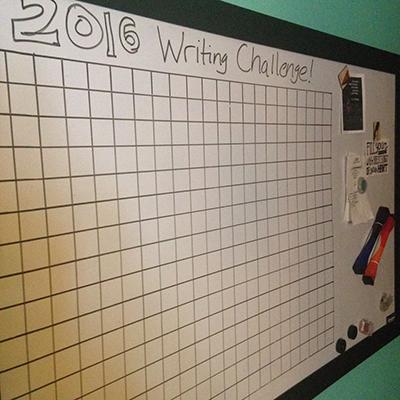 writiing chart
